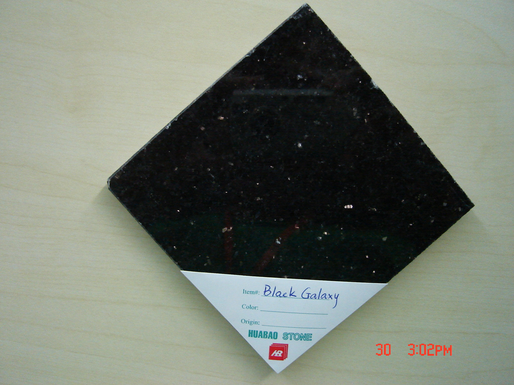 Black Galaxy Granite Slab Tiles Polished Honed For Indoor Outdoor Wall Stairs Floor